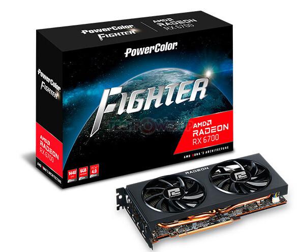 PowerColor AMD Radeon RX 6700 6 GB RDNA 2 Graphics Card 5