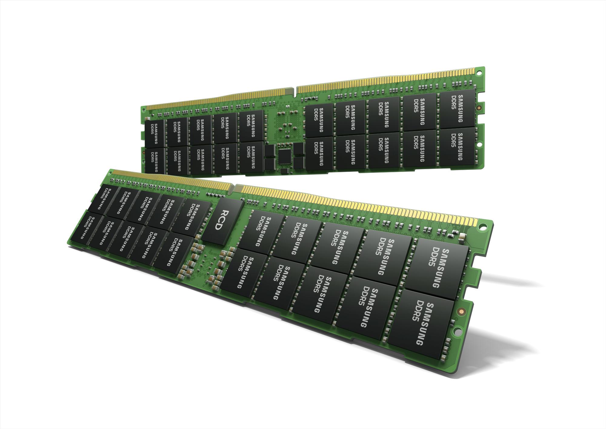 Samsung công bố thanh RAM DDR5