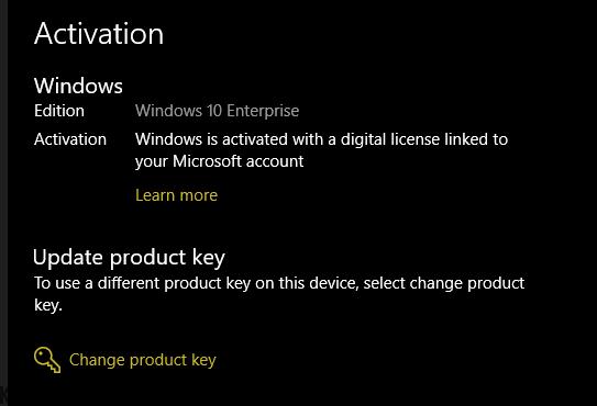 Active Windows 10 lệnh Script nhanh chóng