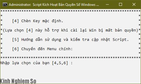 cach active windows 10 lenh script kich hoat vinh vien hinh 5