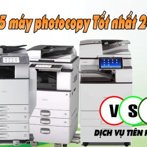 máy photocopy Tốt nhất 2021