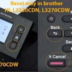reset may in brother hl l3230cdn