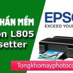 TẢI PHẦN MỀM reset máy in Epson L805