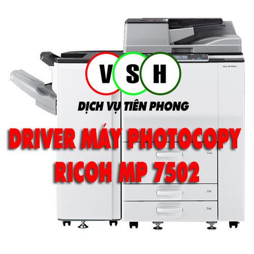 Tải driver ricoh MP 7502