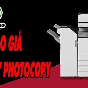 Báo giá thuê máy photocopy