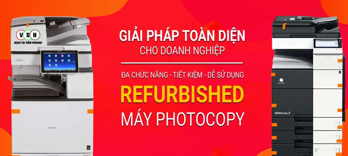 Địa chỉ mua máy photocopy Refurbished