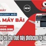 Top 3 Địa chỉ cho thuê máy photocopy tại Hải Dương