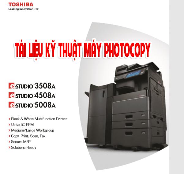 Tài liệu sửa máy phtocopy toshiba