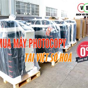 Bán máy photocopy trả góp tại Thái Bình