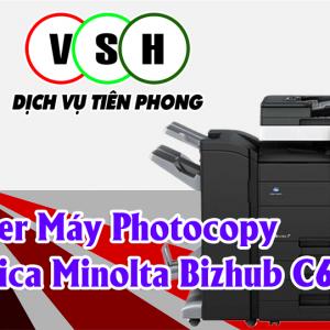 Tải Driver Máy Photocopy Konica Minolta Bizhub C654e