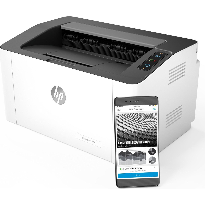 Đánh giá Máy in Laser trắng đen HP 107w
