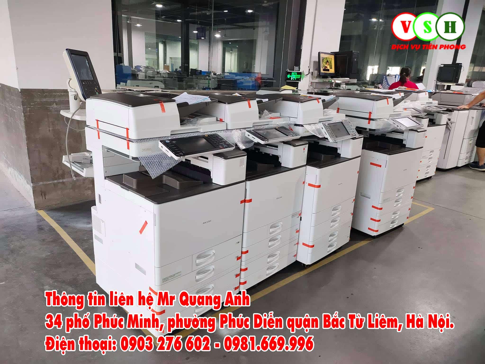 Cho thuê máy photocopy tại Quận Bắc Từ Liêm
